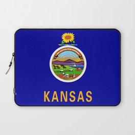 Kansas State Flag Laptop Sleeve
