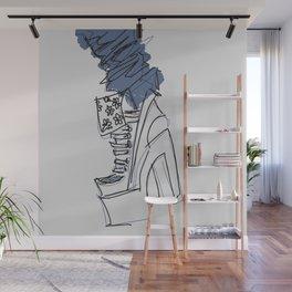 Denim N Heels Wall Mural