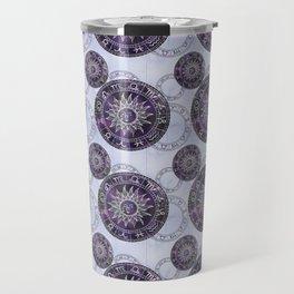 Zodiac Cycle Pattern Travel Mug