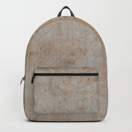 PLASTER TEXTURE BACKGROUND WITH BLANK SPACE Backpack