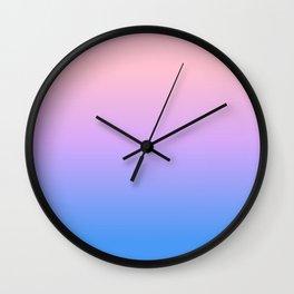 bright gradient Wall Clock