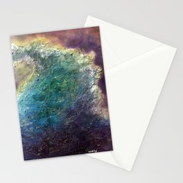 Metaphorical Crush by Nadia J Art Stationery Cards