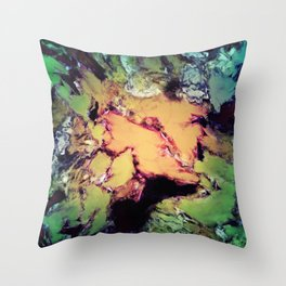 Bathe Throw Pillow