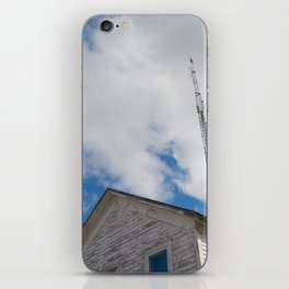 tower to the sky iPhone Skin