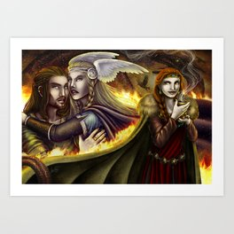 Vǫlsunga saga – Lovepotion I Art Print