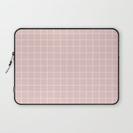 Grid Pattern - soft pink - more colors Laptop Sleeve
