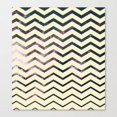 Cosmic Zag Canvas Print