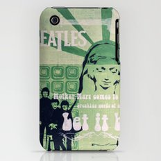 Let It Be (Painted Version) Slim Case iPhone (3g, 3gs)