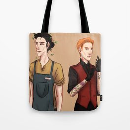 Ink's Bloom Tote Bag