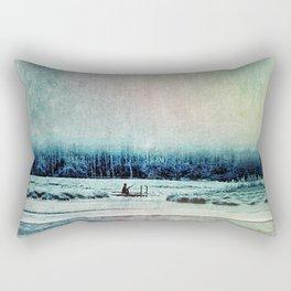 The Last Winter Rectangular Pillow