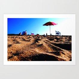 Beach Vibes Art Print