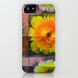 Prehepaticus Framework Flower  ID:16165-082221-45091 iPhone Case