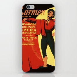 Vintage poster - Carmen iPhone Skin