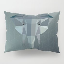 Geometric Elephant Pillow Sham