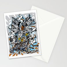 Eagle Vs Drone Stationery Cards