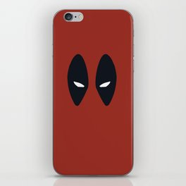 Dead-pool, Mar-vel, Comic Hero iPhone Skin