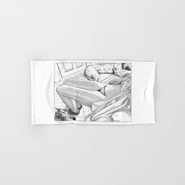 asc 1006 - Le collier de la Baronne (The Baroness's necklace) Hand & Bath Towel