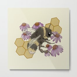 Smol Beebee Metal Print