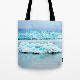Icy Tranquility Tote Bag