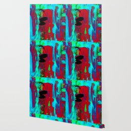 Abstraction Wonder No.2g by Kathy Morton Stanion Wallpaper