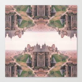 Chateau Photographic Pattern #1 Canvas Print