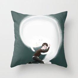 Book friend Throw Pillow