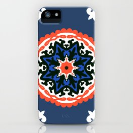 Bold and bright beauty of suzani patterns ver.6 iPhone Case