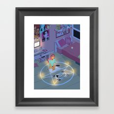 The Calling: Execution (Night) Framed Art Print