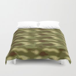 Camouflage Pattern Duvet Cover