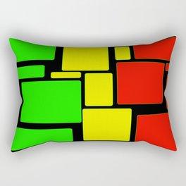 Ghanaian colors Rectangular Pillow
