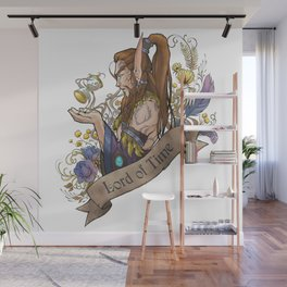 Lord of Time Wall Mural
