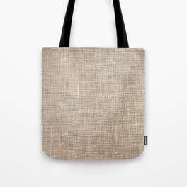 Len Sack Fabric Texture Tote Bag