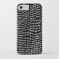 dots iPhone & iPod Cases featuring Dots by Marie Yates