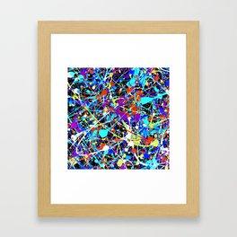 Splat! 2 (Inside Out) Framed Art Print
