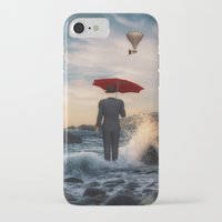 magritte iPhone & iPod Cases featuring A la Magritte by Susann Mielke