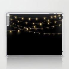 Gold rich Glitter Chain- Treasure Sparkle Laptop & iPad Skin