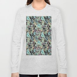 Bloom Floral Camouflage Long Sleeve T-shirt