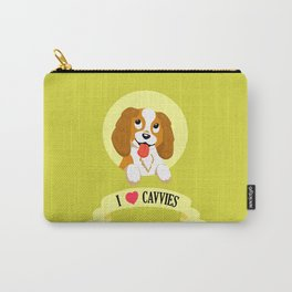 I Heart Cavvies Carry-All Pouch