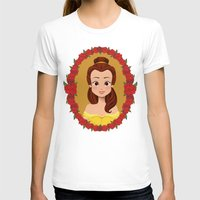 belle T-shirts featuring Belle by Joey Ellson