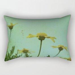 Fragile Flowers Rectangular Pillow