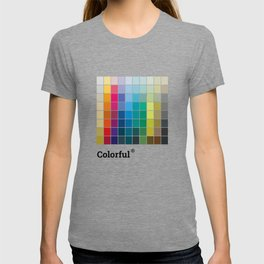 Colorful Soul - All colors together T-shirt
