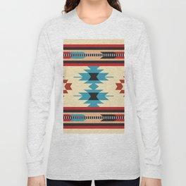 American Native Pattern No. 37 Long Sleeve T-shirt