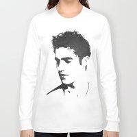 darren criss Long Sleeve T-shirts featuring Darren Criss Portrait by laurenschroer