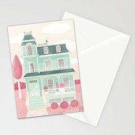 La maison brocoli Stationery Cards