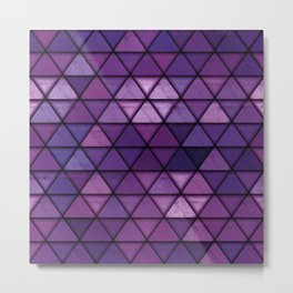 Abstract Geometric Background #14 Metal Print