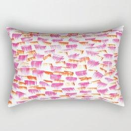 Bat her eyelids Rectangular Pillow