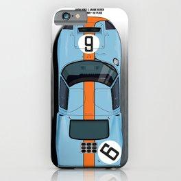 Rodriguez-Bianchi GT40 LM 1969 iPhone Case