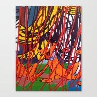lichtenstein Canvas Prints featuring LICHTENSTEIN/PLUTO by Brandon Neher