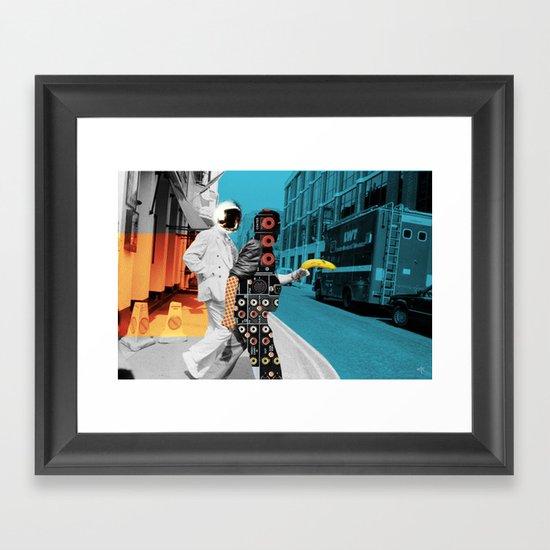 No sleep till ... Framed Art Print