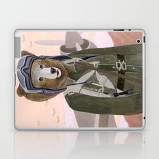 Aviator Bear Laptop & iPad Skin
